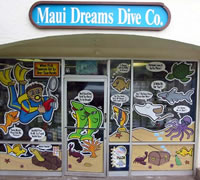 Maui Dreams Dive Co. - front door